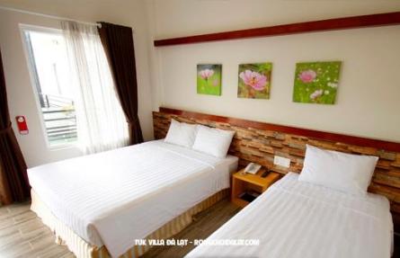 Ngỡ ngàng với những ưu đãi đặc biệt của Tuk Villa Hotel Đà Lạt - Khách sạn Đà Lạt giá rẻ 2019